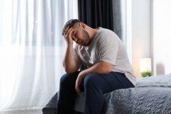 Man not feeling well due to sleep apnea in Boca Raton